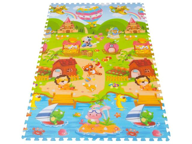 Imagem de Tapete Infantil Festa da Princesa 6 Peças