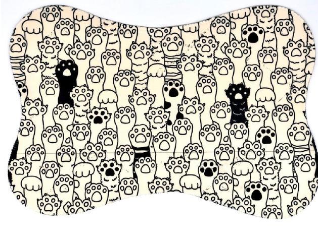 Imagem de Tapete jogo americano pet dog patinhas.