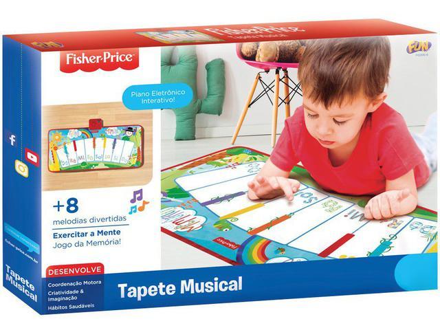 Imagem de Tapete Musical Fisher Price Multicolor