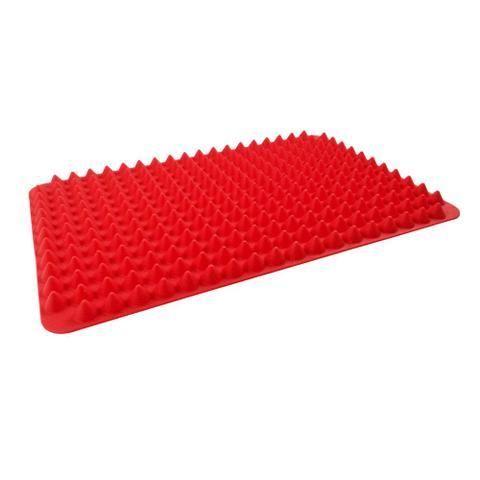 Imagem de Tapete para Forno em Silicone 29cm x 19cm Kenya Vermelho