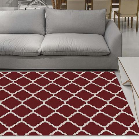 Imagem de Tapete para Sala Elegance Imperial Vermelho 2,00X2,50M Jolitex