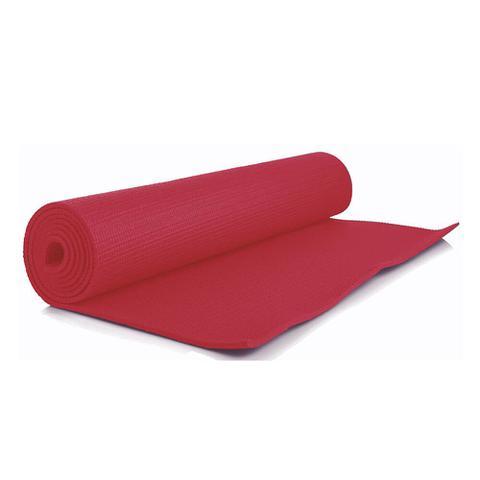 Imagem de Tapete para Yoga em PVC Vermelho - 1,60m x 61cm