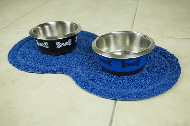 Imagem de Tapete pet oval  azul - loaní