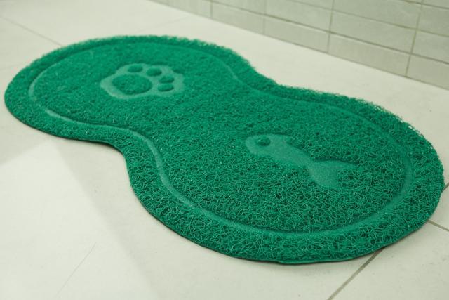 Imagem de Tapete pet oval verde - loaní
