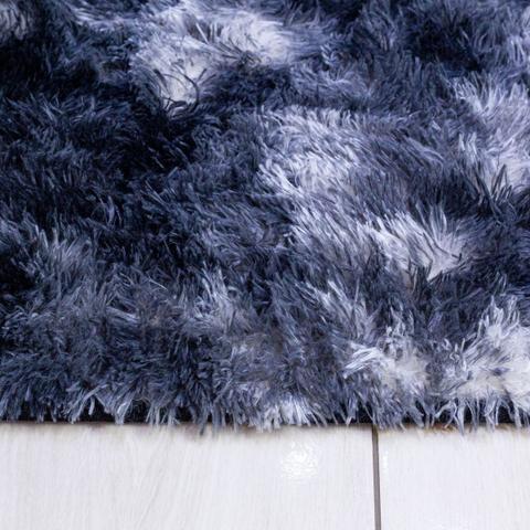 Imagem de tapete sala 2,00x1,50 shaggy felpudo de luxo macio black friday
