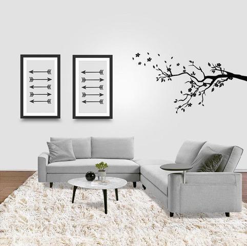 Imagem de Tapete Saturs Shaggy Pelo Alto Pérola Nude - 50 x 100 cm Tapete para Sala e Quarto