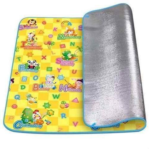 Imagem de Tapete tatame infantil para bebe termico de atividades emborrachado dobravel 1,80 x 1,20 grande