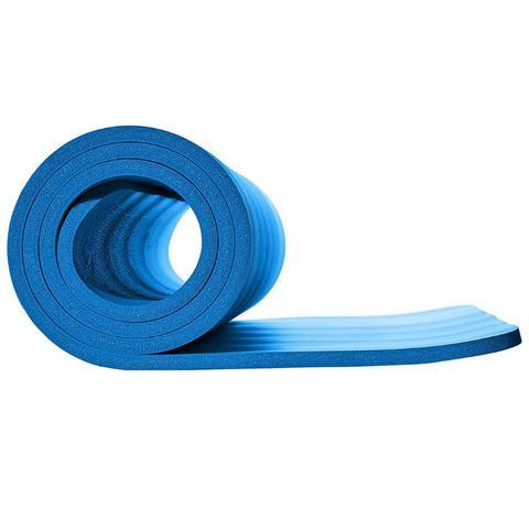 Tapete Yoga Azul em NBR 186x60x0.8 Pilates Treinamento - Pbk sports ... 6d5e9b506486