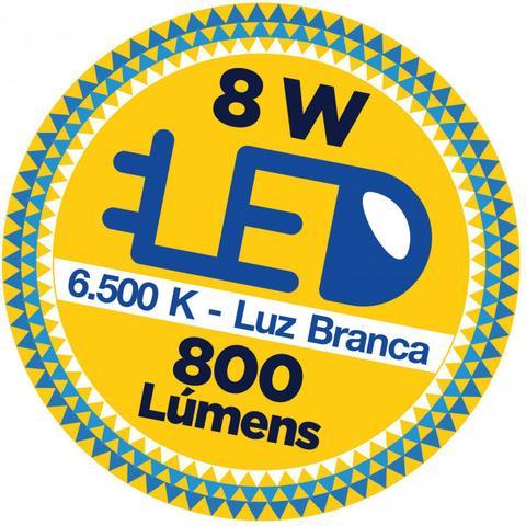 Imagem de Tartaruga LED Externa Clássica 8W Blumenau Branco
