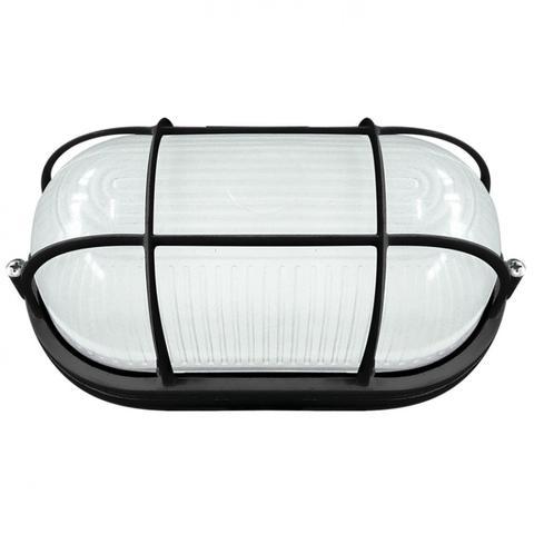 Imagem de Tartaruga LED Externa com Grade 8W Naútica Blumenau Preto