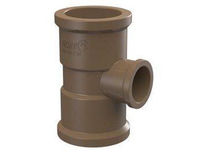 Imagem de Tê de Redução Tigre Soldável PVC 50 x 20mm