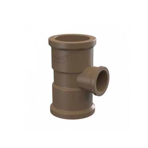 Imagem de Te Redução Soldável Água Fria marrom 50X32