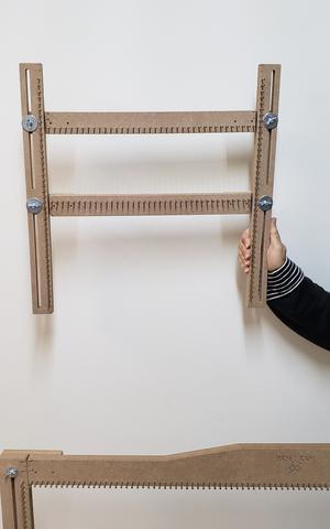 Imagem de Tear Prego 3 Em 1 Quadrado Retângulo Linear + Agulhas