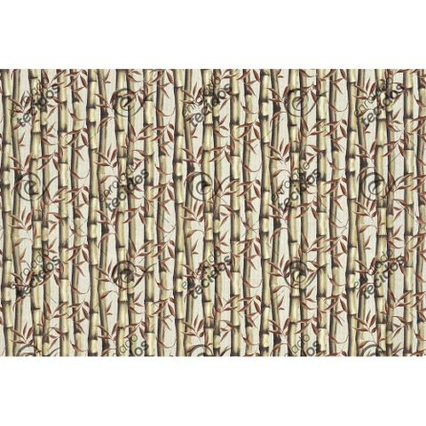 Imagem de Tecido Impermeável Acqua Linea Bambu Bronze - 1,40m de Largura