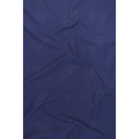 Imagem de Tecido Tricoline Liso Azul Marinho - 1,50m de Largura