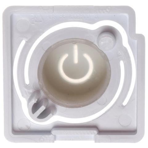 Imagem de Tecla Botão Liga e Desliga Original Lava e Seca Electrolux - 16602900