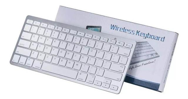Imagem de Teclado Bluetooth Para Notebook MacBook - Android iOs Windows