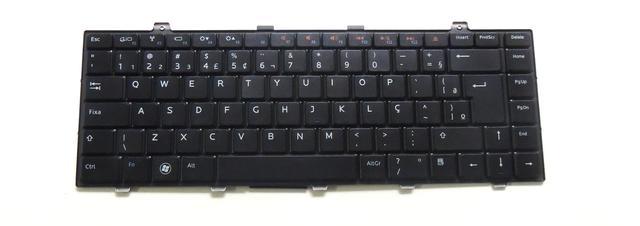 Imagem de Teclado Compativel Com Notebook Dell Studio 1455 - PN:0XW4KD