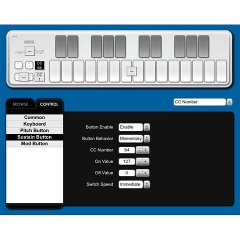 Imagem de Teclado Controlador Korg Nanokey2 USB MIDI Preto