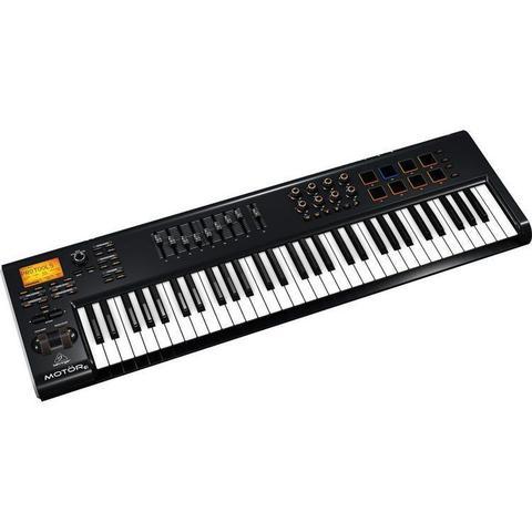 Imagem de Teclado controlador MIDI/USB MOTOR 61 Behringer