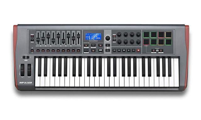 Imagem de Teclado Controlador MIDI USB Novation Impulse 49