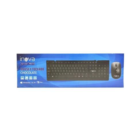 Kit Teclado e Mouse Key-8386 Inova