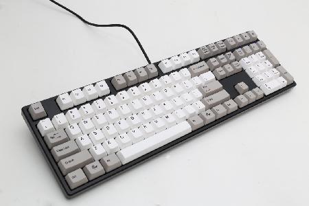 Imagem de Teclado Gamer Mecanico ONE Keycaps Cinza - DUCKY Channel CHERRY BLACK DKON1608-AUSPHZBB5