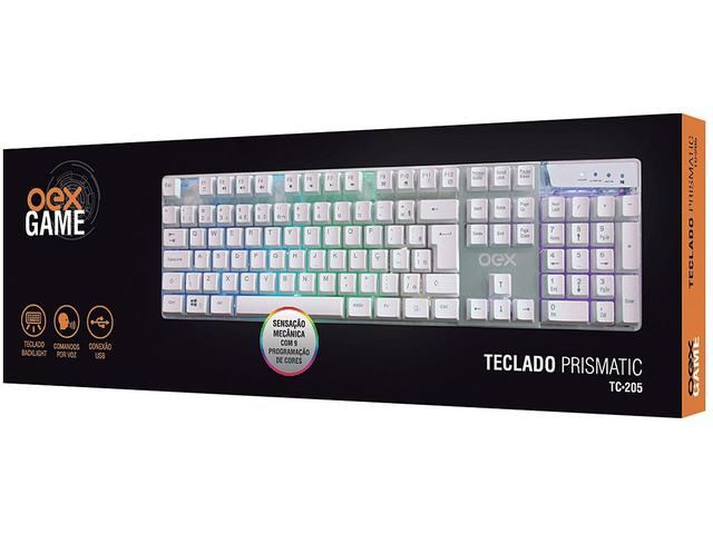 Imagem de Teclado Gamer Multimídia USB Prismatic TC20