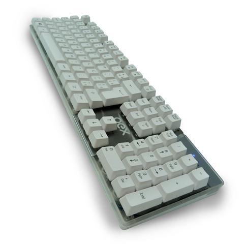 Imagem de Teclado Gamer Prismatic Semi Mecânico USB Comando por Voz OEX TC205