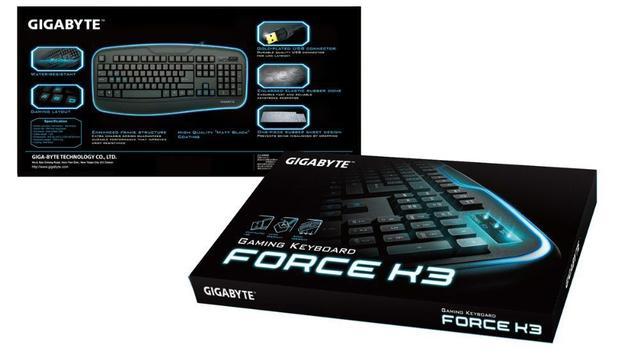 Teclado Usb Gk-force K3 Gigabyte