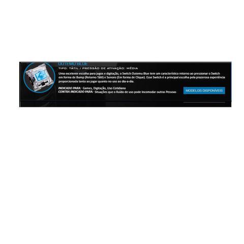Imagem de Teclado Mecanico Gamer Kumara RGB Switch Azul K552RGB
