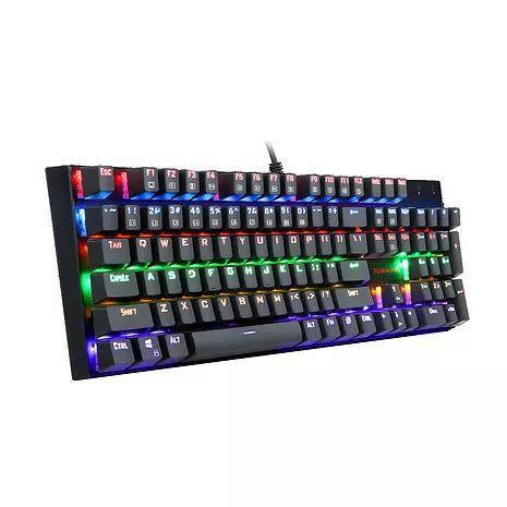 Imagem de Teclado mecanico gamer redragon rudra rainbow switch outemu azul