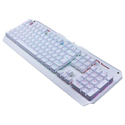 Imagem de Teclado Mecânico Gamer Redragon Varuna RGB Branco Switch Outemu Brown DIY ABNT2 - K559W-RGB (BROWN)