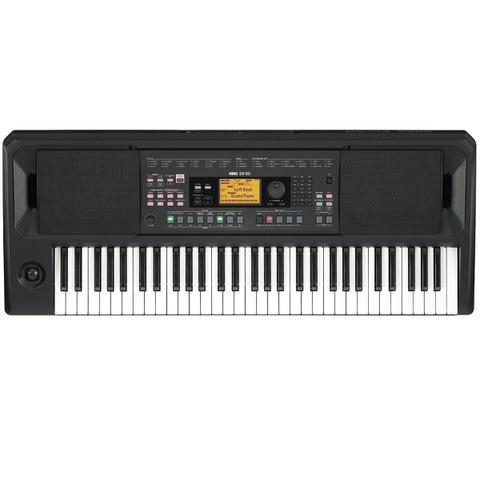 Imagem de Teclado Musical Arranjador Korg EK 50 Preto 61 Teclas Sensitivas MP3, WAV, USB MIDI