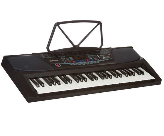 Imagem de Teclado Musical Ultimatekeys Uk540 Waldman 54 Teclas - Microfone - Suporte Partitura - Fonte Bivolt