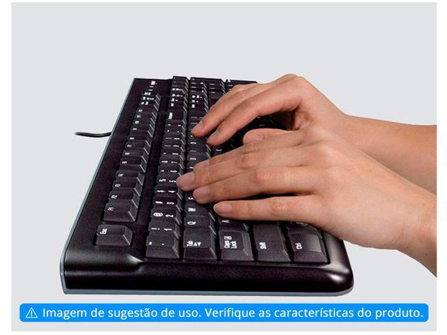 Imagem de Teclado Numérico USB Logitech ABNT Preto K120