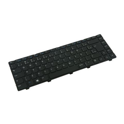 Imagem de Teclado para Notebook Dell Inspiron 14 3421  Preto ABNT2  - Marca bringIT