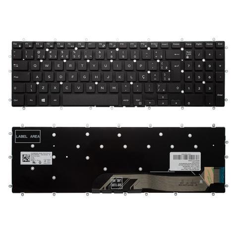 Imagem de Teclado para Notebook Dell Inspiron 15-5567  ABNT2 - Marca bringIT