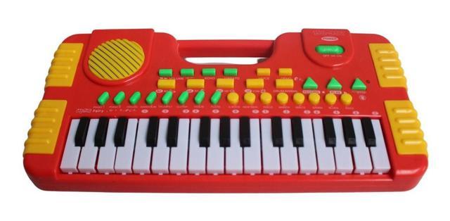 Imagem de Teclado Piano Musical Infantil 31 Teclas Com Gravador