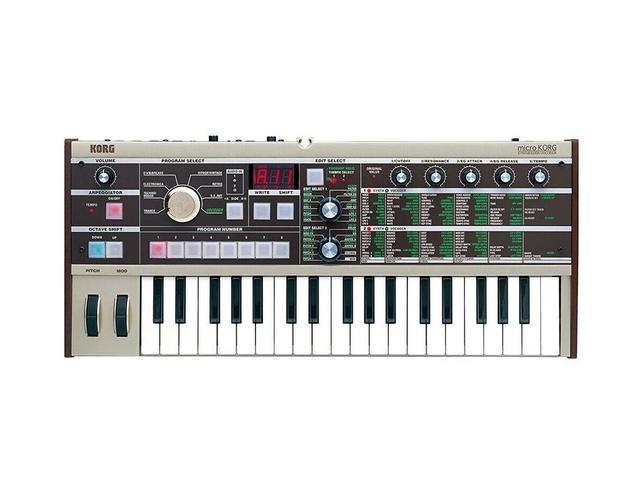 Imagem de Teclado Sintetizador Microkorg Mk-1 Korg 37 Notas Sensível