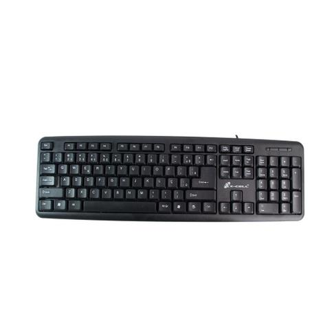 Teclado Usb Mini Slim Xc-tec-02 X-cell