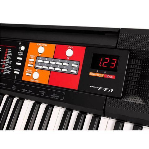 Imagem de Teclado Yamaha PSR-F51 61 Teclas 120 Timbres