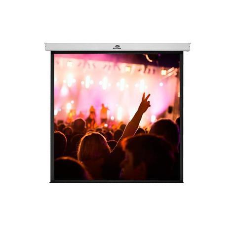 Imagem de Tela De Projeção Retrátil Sumay Sm-Trqs84 Formato 1x1 84 Polegadas