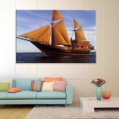 Imagem de Tela Decorativa Barco a Vela