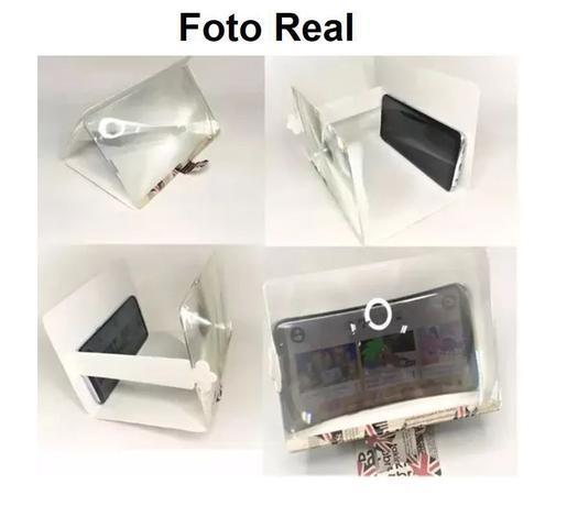 Imagem de Tela Lupa Ampliadora Leitura E Celular 8 Polegadas Zoom
