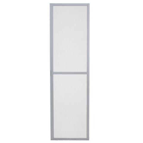 Imagem de Tela Mosquiteira para Porta de Alumínio Balcão Aluminium Sasazaki 218cmx200cm Branco