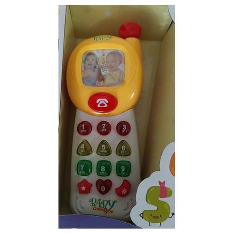 Imagem de Telefone Baby Musical 18 Cm Bebe Celular Numeros