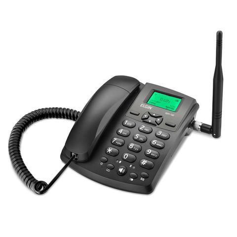 Imagem de Telefone Celular Rural de Mesa Elgin Desbloqueado + Rádio FM