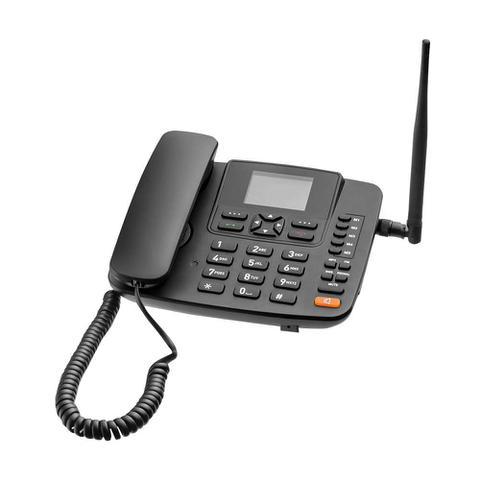 Imagem de Telefone Celular Rural de Mesa Multilaser RE505 Roteador 4G Rádio Fm
