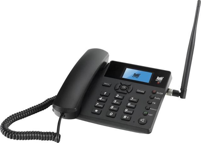 Imagem de Telefone celular rural fixo de mesa 3g frequência: 850, 900 ,1800, 1900 e 2100m bdf-11, com rádio fm